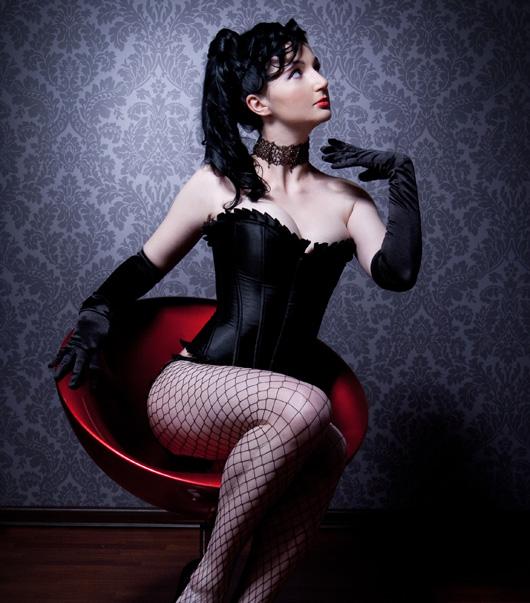 Burlesque sexy Corsagen